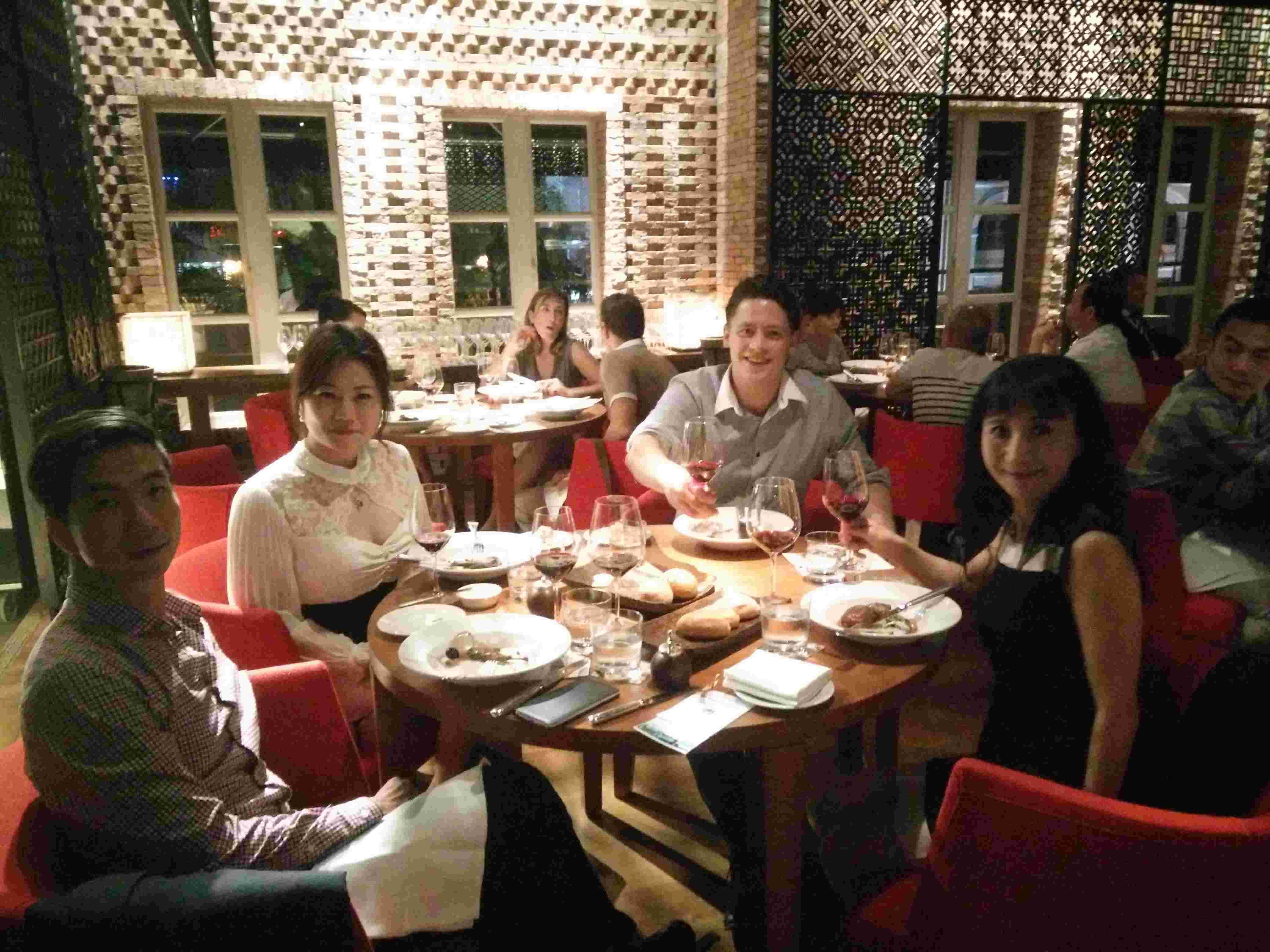 Beau Sejour dinner (7/2015)