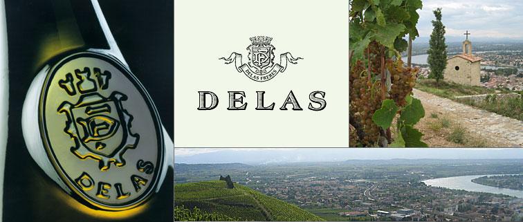 Delas – Rhone Valley xứ sở của Syrah