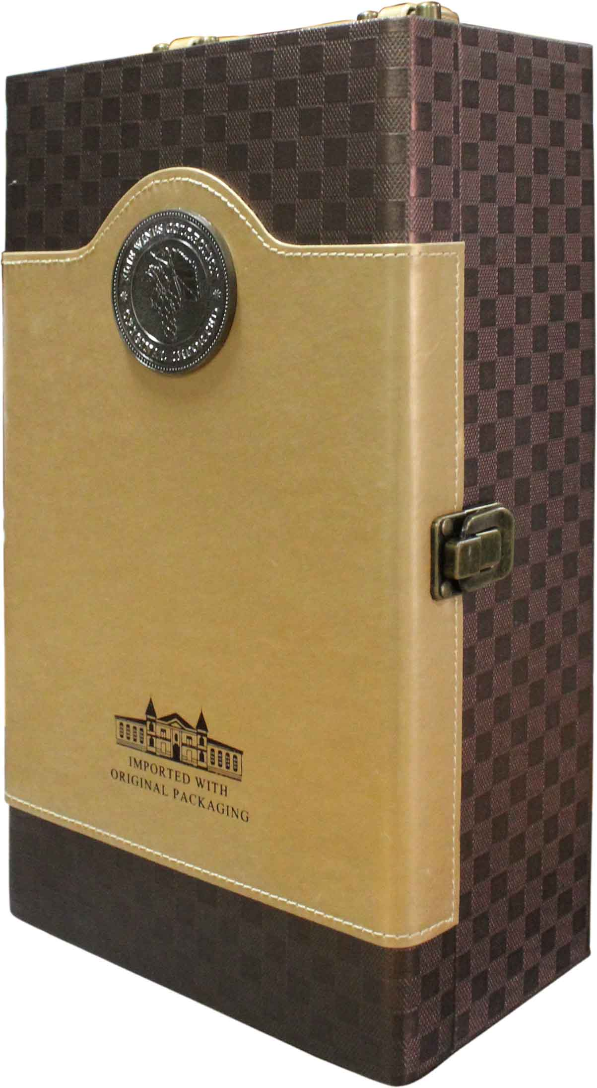 Luxury double leather box