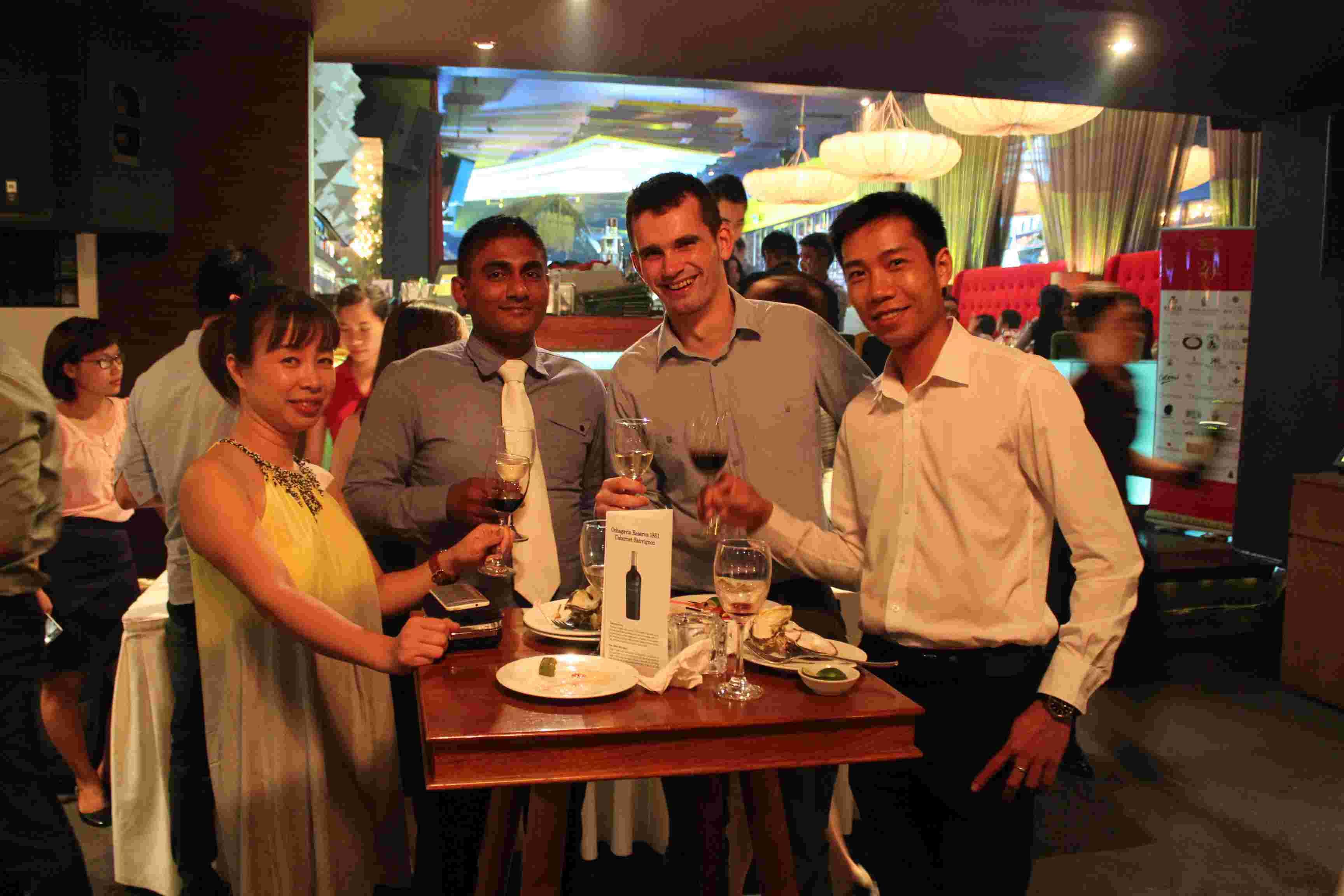 Ochagavia & Casablanca Tasting - Hanoi (6/2015)