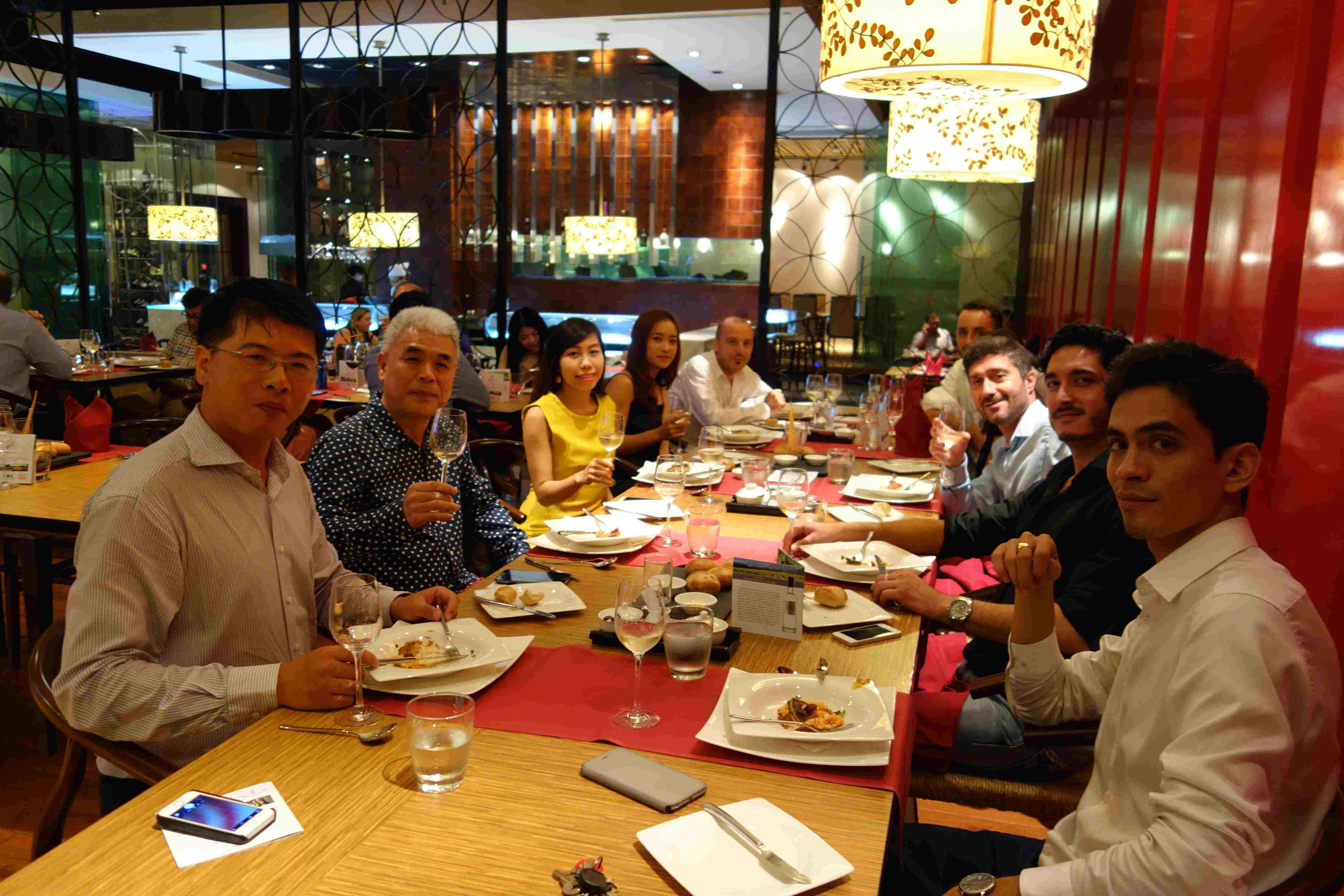 Italian Wine Dinner (10/2015)